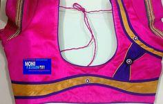 Patch Work Blouse Designs, Blouse Back Neck Designs, Blouse Designs Silk, Choli Designs, Designer Blouse Patterns, Blouse Outfit, Saree Blouse, Blouse Desings, Fashion Blouses