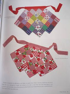 quilted apron inspiration