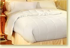 Hotel White Goose Down Blanket - Pacific Coast Feather Company