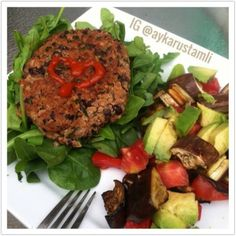 Ripped Recipes - Veggie Burger - Delectable veggie burger with a nice spicy kick :-)