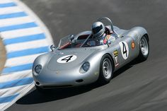 Porsche 718 RS 60 Spyder (Chassis 718-052 - 2006 Monterey Historic Automobile Races) High Resolution Image