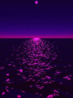 Sonnenuntergang ins Meer .....