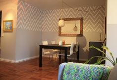 perhaps if I can't get him to commit to an entire chevron accent wall...