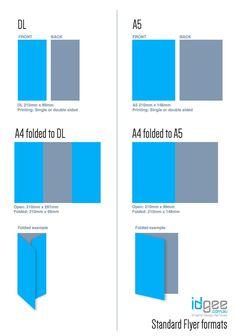 Image result for standard flyer size