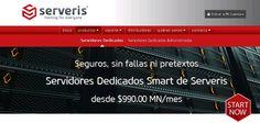 Obtenga el máximo rendimiento, disponibilidad y seguridad con un servidor dedicado de Serveris. Centro de Datos de Clase Mundial y los mejores precios de México. https://servidoresdedicados.com.mx/