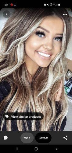 Pretty Hairstyles, Wig Hairstyles, Halloween Hairstyles, Long Blonde Hairstyles, Wedding Hairstyles, Layered Hairstyles, Wavy Medium Hairstyles, Hairstyle Ideas, Hairstyles 2018