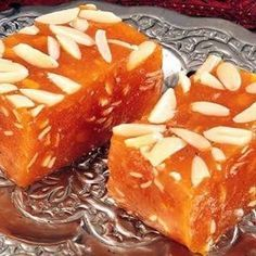 Karachi Halwa Recipe- Learn how to make Karachi Halwa step by step on Times Food. Find all ingredients and method to cook Karachi Halwa along with preparation & cooking time. Indian Dessert Recipes, Indian Sweets, Indian Recipes, Diwali Food, Indian Dishes, Indian Foods, Thing 1, Sweet Recipes, Sweet Treats