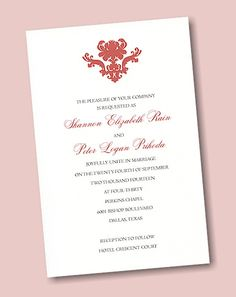 Create Your Own Wedding Invitation Suite 45