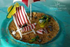 Red Sea Holidays - Cake by Art Cakes V&M Mkhitaryan - CakesDecor