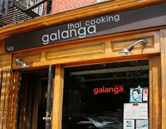 Galanga - You know how I feel about Thai, and I always eat here if I'm in the neighborhood. http://galanganyc.com/