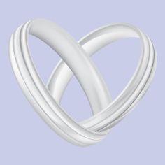 Ringen voor een trouwkaart