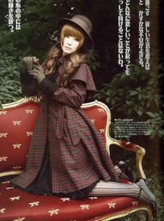 classic style reminiscent of Sherlock Holmes- costume