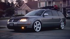 passat wagon rims | anyone get pics of my passat wagon on white lambo wheels