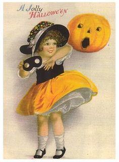 A Nostalgic Halloween: Some free printables