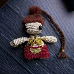 Leia Organa Star Wars amigurumi crochettoy
