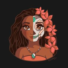 Moana: Sugar Skull Series by ellador
