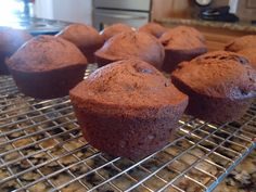 Chocolate Banana Muffins, all-things-delicious.blogspot.com