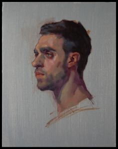 'Charlie' by Kerry Dunn, 2013. Oil on canvas.
