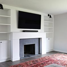 Soapstone Slate Fireplace Renovation | brittanyMakes
