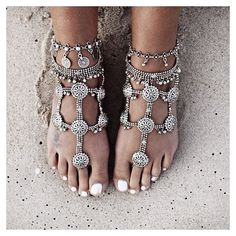 #summer #jewels for #feet