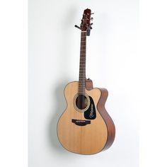 Takamine Pro Series 1 Jumbo Cutaway Acoustic-Electric Guitar Natural 190839081308