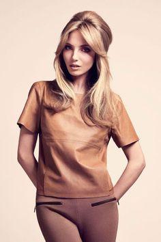 Frisuren für lange Haare: 60er Jahre Brigitte Bardot