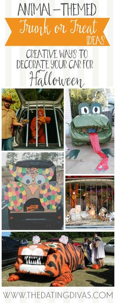 9 best Trunk or Treat images on Pinterest Halloween prop - trunk halloween decorating ideas