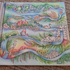 Enchanted Forest --> If you're looking for the most popular coloring books… Adult Coloring Book Pages, Coloring Book Art, Colouring Pages, Johanna Basford Books, Johanna Basford Coloring Book, Enchanted Forest Book, Enchanted Forest Coloring Book, Faber Castell, Johanna Basford Secret Garden