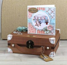 Hobby house here comes summer kit Hobby House, House Of Cards, House Design, Crafty, Stamps, Fun, Inspiration, Suitcase, Card Ideas