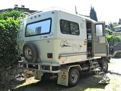 Box Truck Camper ISUZU FRR BOX TRUCK 270HP SIDE door