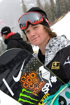 Louie Vito. US Snowboarder...pretty crazy i know this fucker and see em on here haha