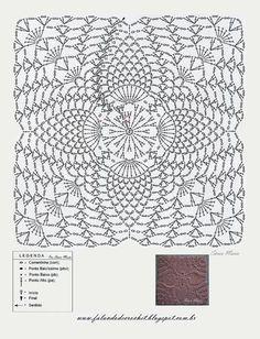 uncinetto mattonelle