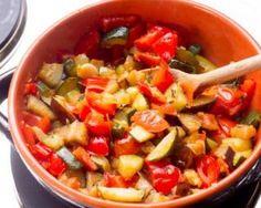 Ratatouille de courgettes et poireaux à moins de 200 calories