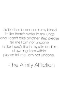 The Amity Affliction Pittsburg
