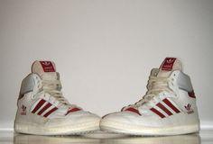 OG Vintage 1985 Adidas Centennial High France 10 5 UK 9 5 Basketball Trainer | eBay