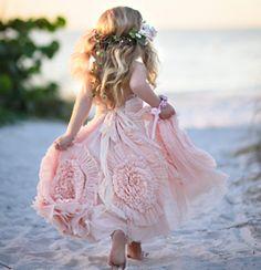 A Beautiful Mess Frock  Flower girl dress