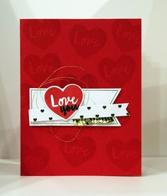 The Bollmans: Valentine's Cards - January Paper Pumpkin