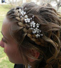 wireandice hair vine wedding hair tiara by wireandice 32.00 etsy