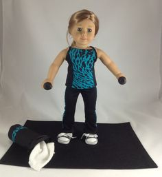 Mjs AMG 6 Piece Exercise Outfit For by MjsDollBoutique2012 on Etsy, $26.00