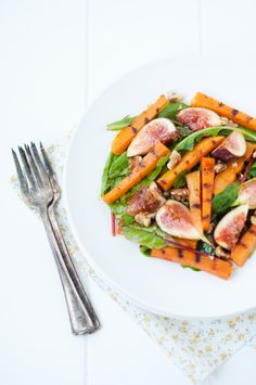 Roasted Butternut Squash & Fig Salad