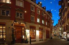 Sweedish Street at Christmas Time