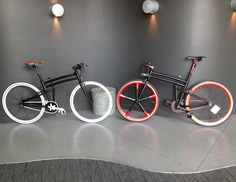 Customized Montague Boston folding bikes