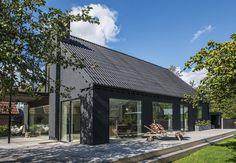 Træt rødstensvilla fra 50'erne fik en overhaling og forvandledes til skandinavisk velvære.