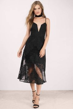 Bless'ed Are the Meek Hover Black Lace Midi Dress Women's Fashion Dresses, Sexy Dresses, Casual Dresses, Midi Dresses, Lace Dresses, Party Dresses, Wedding Dresses, Black Bridesmaid Dresses, Homecoming Dresses