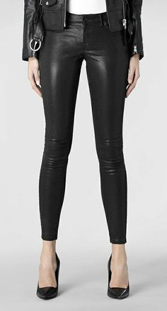 Stretchy Skinnies! These are great in place of regular leggings or skinny jeans, and great layered with a long sweater or even leather jacket.