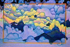 """""""Sunlit"""" - watercolor by Neil Waldman  14""""x20"""""""
