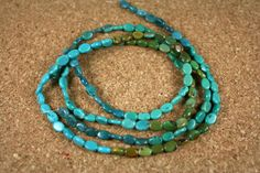 Turquoise Oval Beads  Smooth Blue Teal and Green by ABOSBeads, $17.99