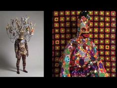 Nick Cave - Art in Motion designs experiential, wearable fabric sculptures that are bright, whimsical, and other-worldly AND make SOUNDS.
