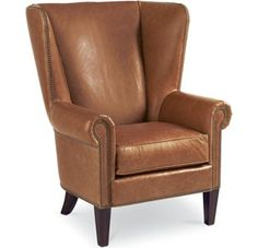 Thomasville - No Price Listed - Leather Choices - Maynard Wing Chair (0400-05)