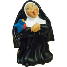 "SISTERFOLK HE WHO SINGS PRAYS TWICE FIGURE - 3.75"" Resin Boxed  O come, let us sing to the Lord! - Psalm 95:1  These whimsical figures celebrate the service and many callings of the religious life! This one features a sweet nun singing her heart out to the Lord, her divine bridegroom. Add to the cart or wish list above.  You may also enjoy our other Catholic Statuary:  Sisterfolk - I Said a Prayer for You Today  Sisterfolk - Laughter is Good"